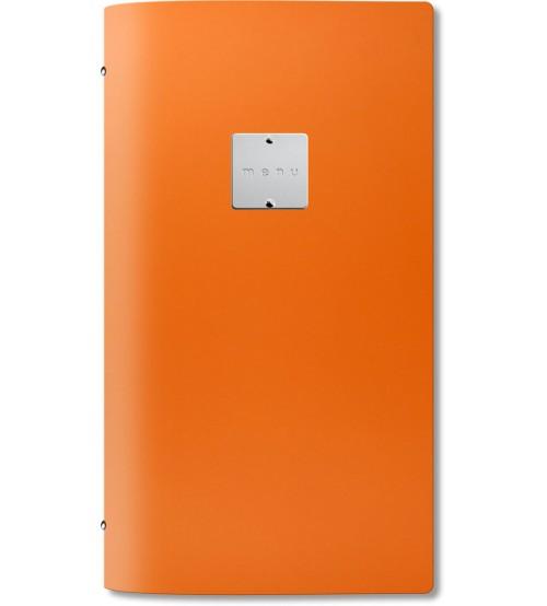 Menuholder FASHION orange | 4RE 6 env. | label