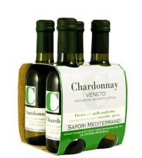 白葡萄酒 - 霞多丽IGT威尼托250 毫升 X 4瓶 -  Sapori Mediterranei