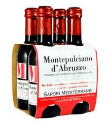 蒙特普齐亚诺 - 阿布鲁佐 DOC 250毫升 x 4瓶 Sapori Mediterranei