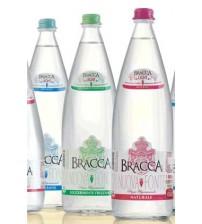 Bracca Nuova Fonte 玻璃瓶 带气泡矿泉水 1L